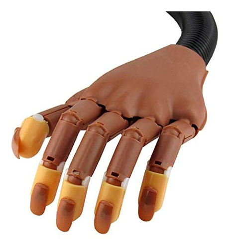 mano de entrenamiento de uñas manicura de manicura de uñas