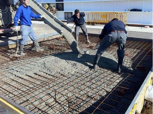 mano de obra colocacion  de techos con viguetas y losetas
