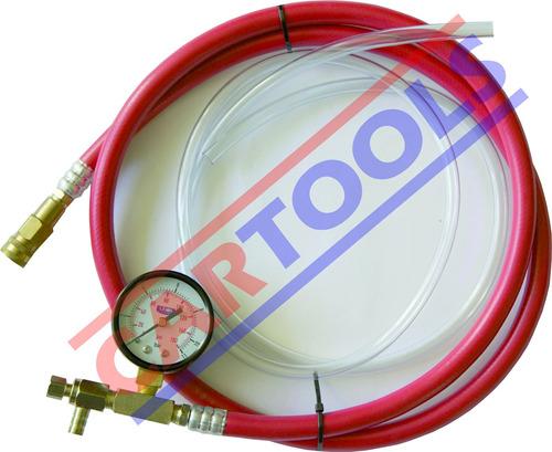 manómetro de presión de bomba de gasolina