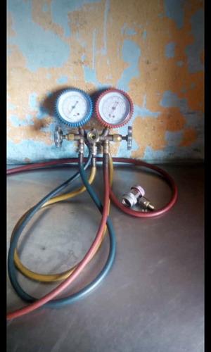 manómetro de refrigeración