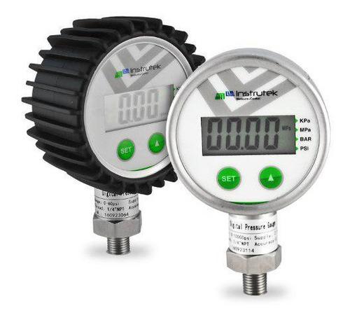 manómetro digital alta presión con 2 unidades de medida