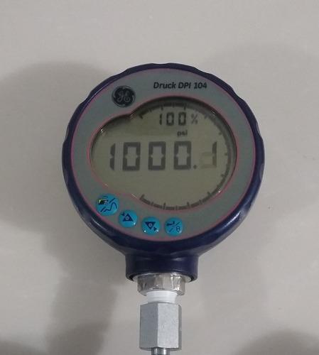 manómetro digital ge druck dpi 104 envío gratis.