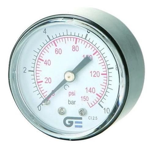 manometro genebre salida posterior 1/4 50mm art. 3821 rangos