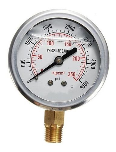 manómetro hidráulico para prensa 100 toneladas código m100t