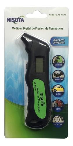 manómetro medidor para presión de neumáticos 99 libras