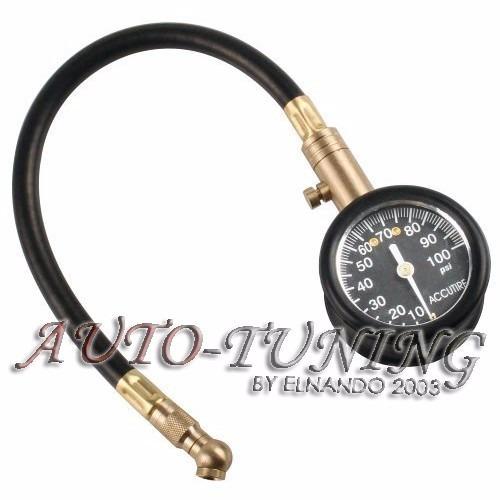 manometro medidor presion  aire de neumaticos profesional