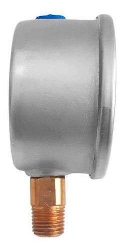 manómetro para sistema de riego c/glicerina 2.5 plg, 100 psi