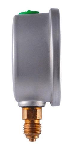 manómetro premium glicerina carátula 2.5 plg, 400 bar (bspp)