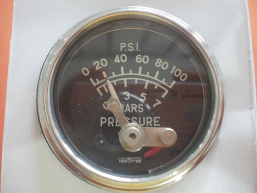 manometro presion aceite  v0908