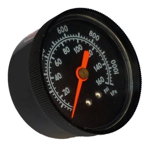 manómetro seco parker 50mm x  1/4  npt rango 0-160 psi
