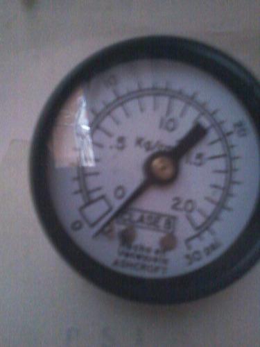 manometros ashcroft dial 2  0 30 psi /kg cm2
