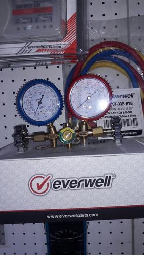 manómetros de refrigeracion