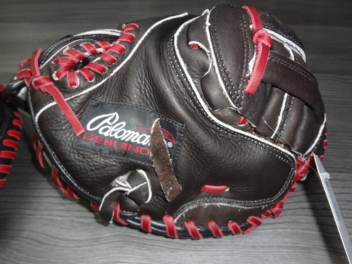 manopla béisbol catcher remate $899 palomares genuino fpx
