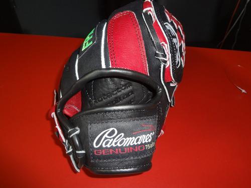 manopla béisbol modelo g125 piel 11.5 pulg palomares genuino