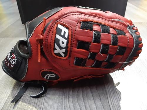 manopla béisbol modelo w125 piel 12.5 pulgapalomares genuino