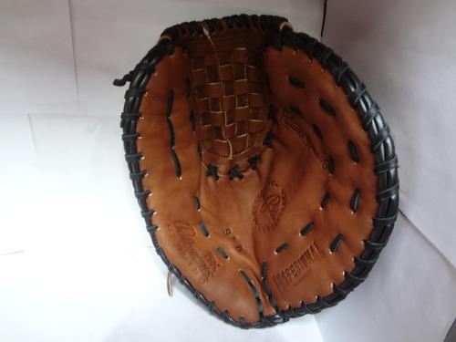 manopla béisbol profesional 1a base 958 palomares genuino