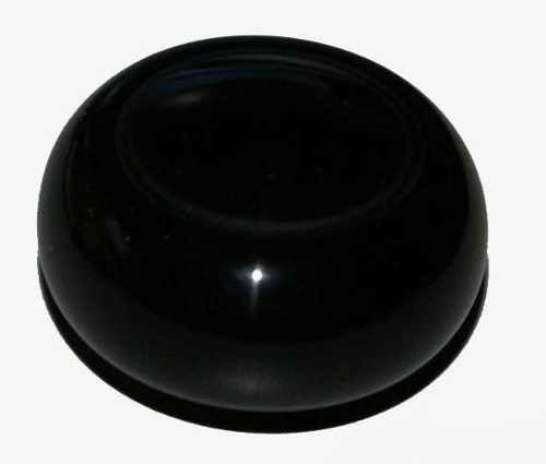 manopla câmbio fusca, kombi, karmanguia rosca 7mm ( preta )