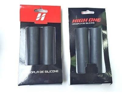 manopla de silicone high one 135mm - preto