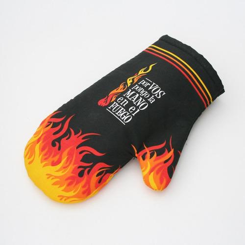manopla fuego - barrancas de belgrano