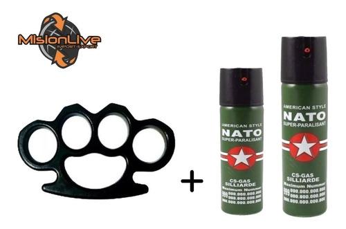 manopla + kit de gases piemientas aerosol direccional oferta