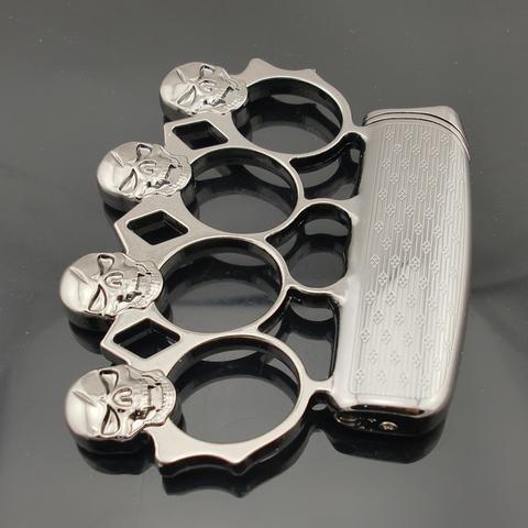 manopla para defensa personal modelo con encendedor
