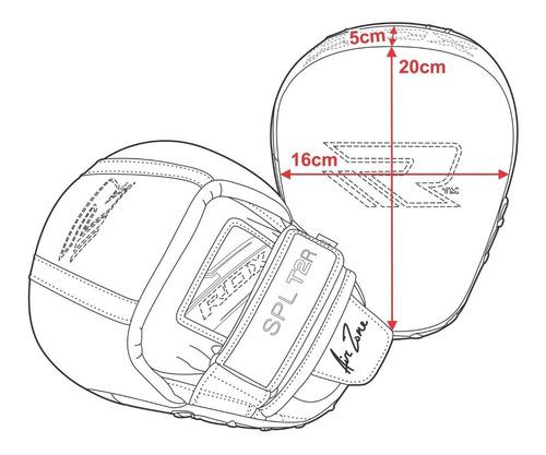 manoplas/focus pads mma/box smarty t2 rdx distribuidor ofici