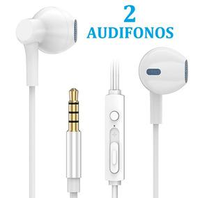 514b1b8f1a4 Promoción 2 Audifonos Manos Libres Universales Blanc