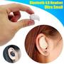 Audifono Bluetooth Manos Libre Miniatura Color Piel