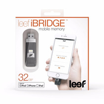 Leef Ibridge 32gb ¿ Pendrive Iphone / Ipad