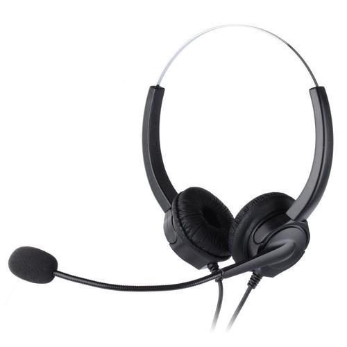 manos libres auriculares para teléfono rj9 callcenter pchero