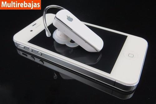 manos libres bluetooh apple para iphone ipod ipad stereo