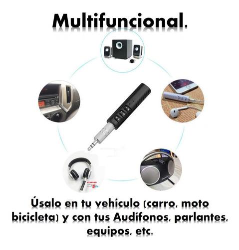 manos libres bluetooth para carro, parlantes, audífonos,etc.