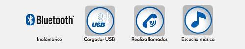 manos libres bluetooth y transmisor fm con cargado | fmt-870