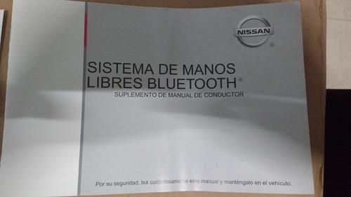 manos libres c/bluetooth original tiida  nimex-x11e1