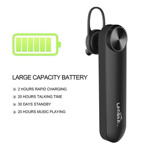 manos libres lansha: bateria 20 horas