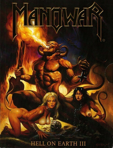 manowar - hell on earth iii (dvd duplo)