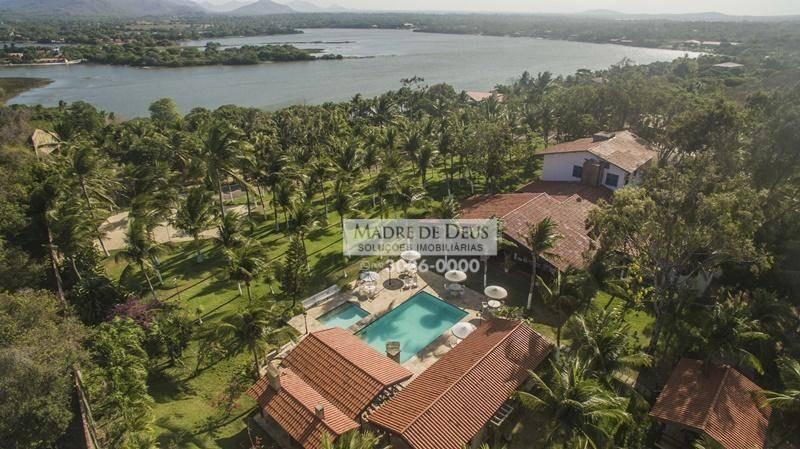 mansao propriedade entre lagoa do banana e o mar - ca0562