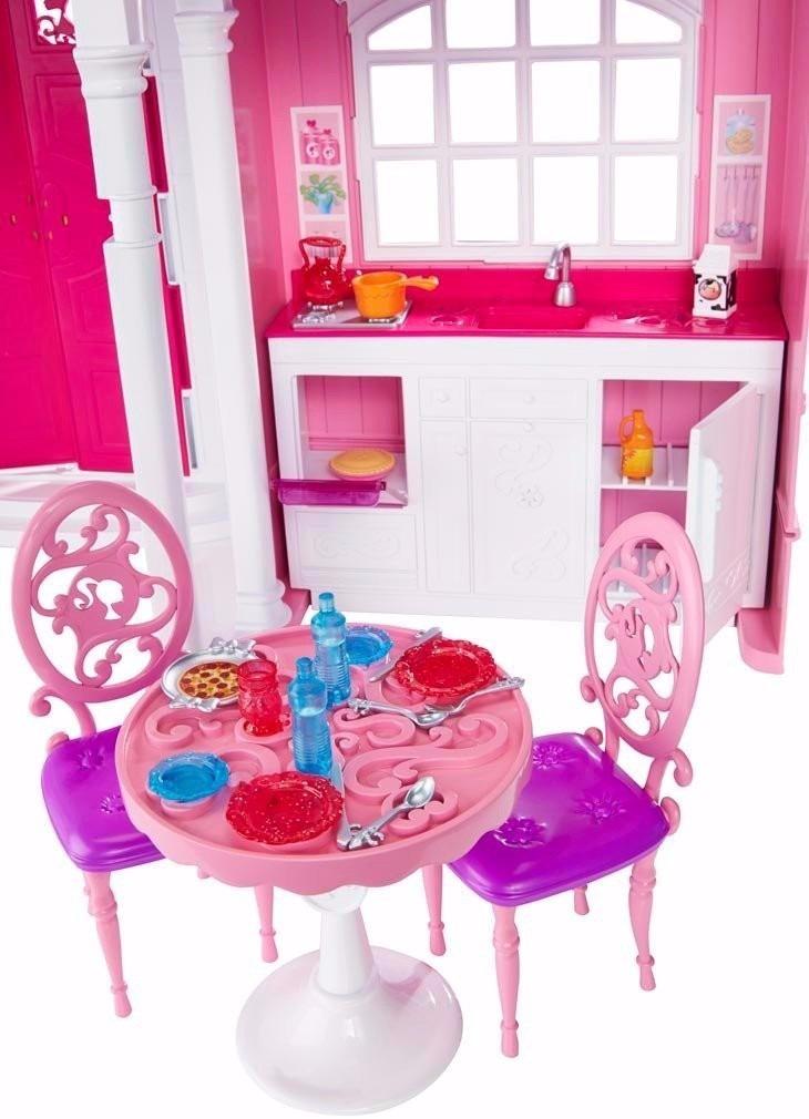 Mans o casa da barbie em malib 3 andares gigante pronta for Casa malibu barbie