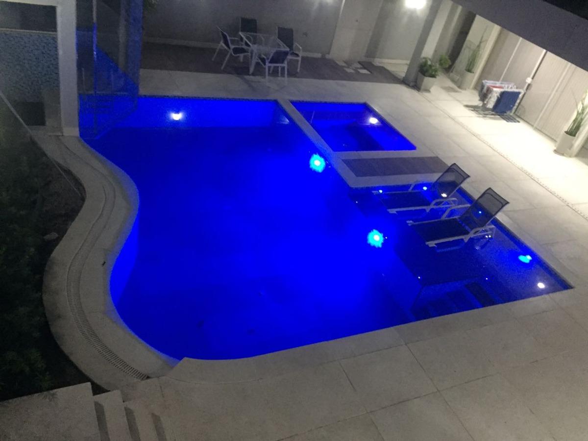 mansão cinematográfica 5 suítes, hidros, lazer show. 6vgs