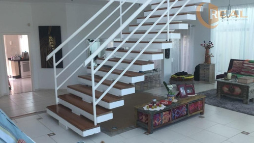 mansão com 3 suítes alto padrão cancela preta - condomínio green park - ca0126