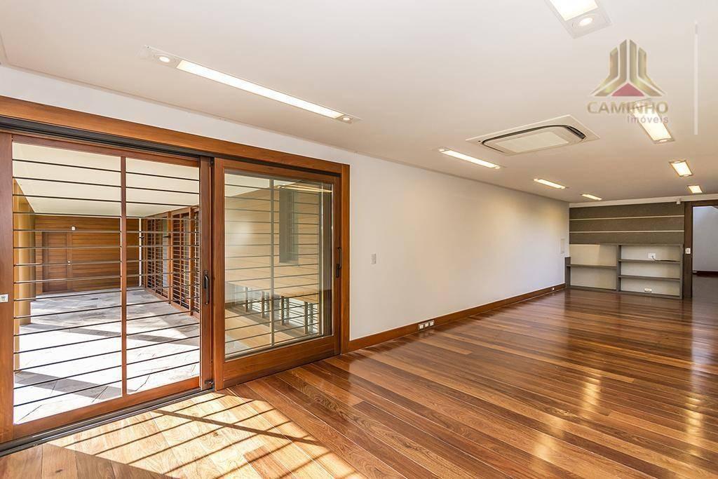 mansão de 947,00 m² de área no vivendas do parque em canoas rs - ca0550