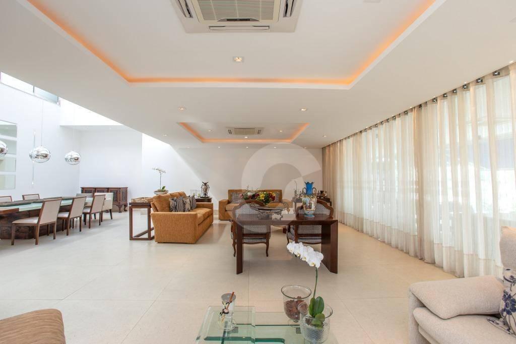 mansão em condomínio fechado, com segurança 24h, em charitas - ca0860