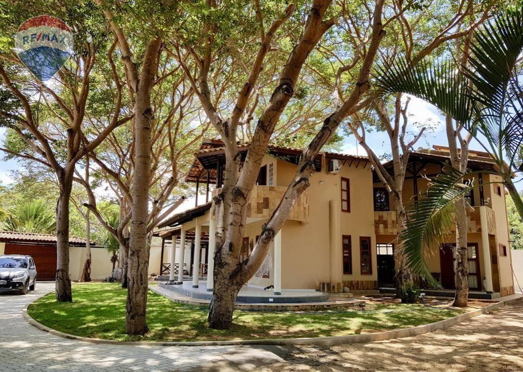 mansão luxo em paracuru próximo ao centro - ca0206