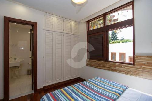 mansão à venda no melhor condomínio da região oceânica - jardim ubá i, piratininga, niterói. - ca0576