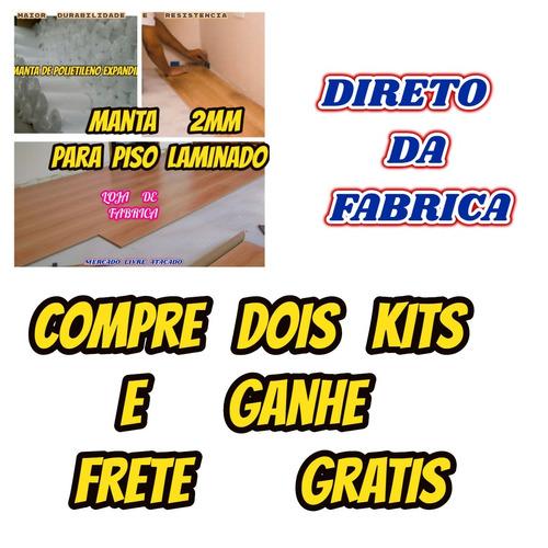manta acrilica 2mm p/piso laminado ou embalagens kit c/31mt²