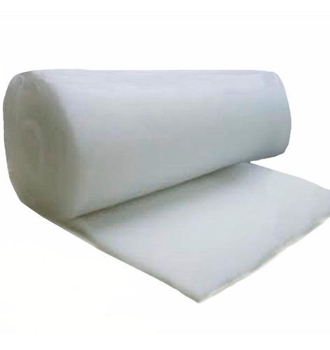 manta acrílica, perlon - rolo com 20 metros aquarios filtros