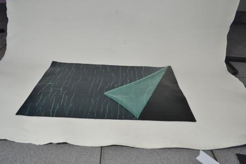 manta asfálfica isolamento acústico térmico 8 folha 40x60 cm