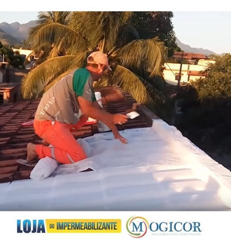 manta bidim vp50 10mt2 impermeabiliza telhados lajes telhas