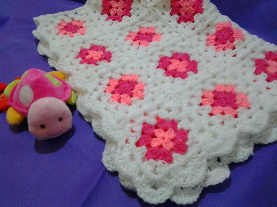 Tejida crochet artesanales capital federal comuna adidum - Mantas a crochet ...