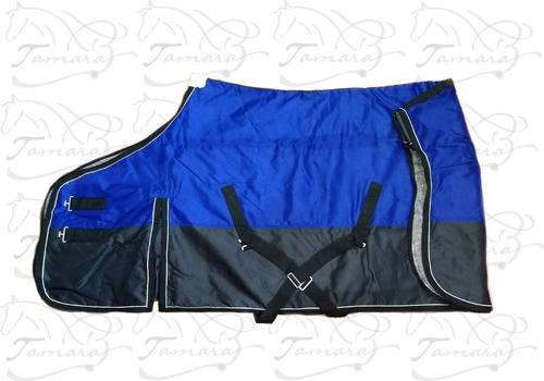 manta de abrigo de cordura y frazada/ caballos/ equitación